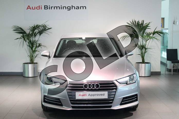 Image seven of this 2017 Audi A4 Diesel Saloon 2.0 TDI Ultra Sport 4dr S Tronic in Floret Silver Metallic at Birmingham Audi