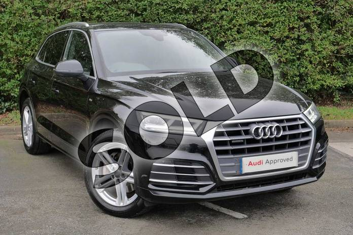 Picture of Audi Q5 2.0 TDI Quattro S Line 5dr S Tronic in Myth Black Metallic