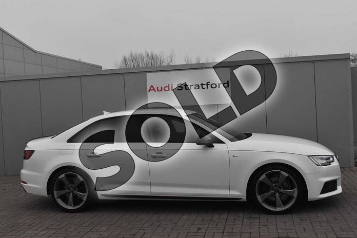 Image four of this 2018 Audi A4 Saloon Special Editions 1.4T FSI Black Edition 4dr in Ibis White at Stratford Audi