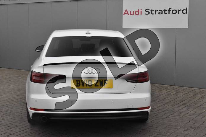 Image nine of this 2018 Audi A4 Saloon Special Editions 1.4T FSI Black Edition 4dr in Ibis White at Stratford Audi