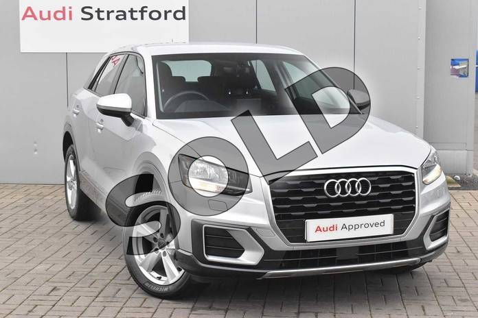 2018 Audi Q2 Estate 1.4 TFSI Sport 5dr in Floret Silver Metallic at Stratford Audi