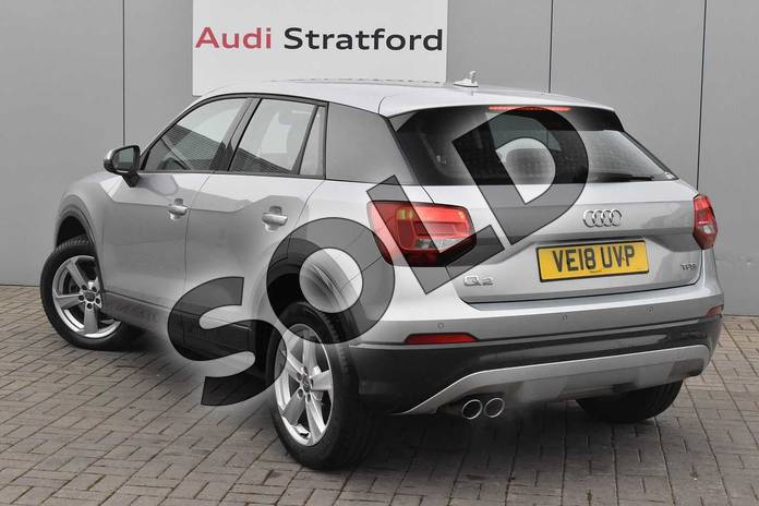 Image three of this 2018 Audi Q2 Estate 1.4 TFSI Sport 5dr in Floret Silver Metallic at Stratford Audi
