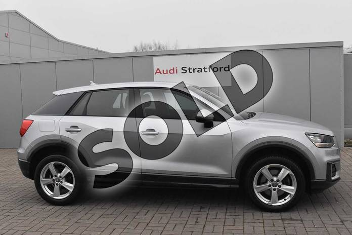 Image four of this 2018 Audi Q2 Estate 1.4 TFSI Sport 5dr in Floret Silver Metallic at Stratford Audi