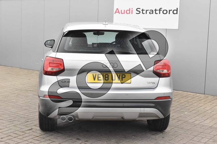 Image nine of this 2018 Audi Q2 Estate 1.4 TFSI Sport 5dr in Floret Silver Metallic at Stratford Audi