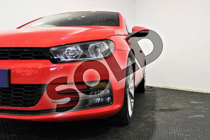 Image three of this 2016 Volkswagen Scirocco Diesel Coupe 2.0 TDI BlueMotion Tech GT 3dr in Special solid - Flash red at Listers U Stratford-upon-Avon