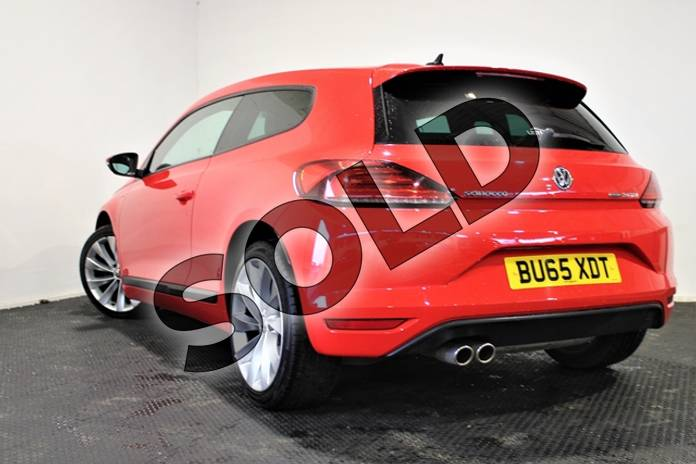 Image twelve of this 2016 Volkswagen Scirocco Diesel Coupe 2.0 TDI BlueMotion Tech GT 3dr in Special solid - Flash red at Listers U Stratford-upon-Avon