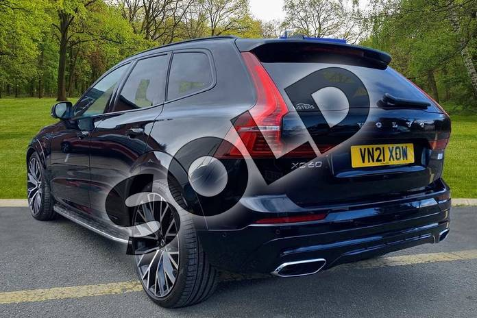 Image two of this 2021 Volvo XC60 Estate 2.0 T8 Recharge PHEV R DESIGN Pro 5dr AWD Auto in Onyx Black at Listers Volvo Worcester