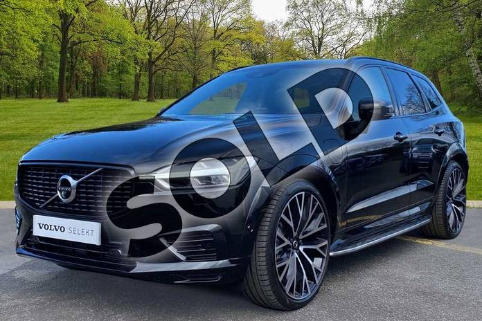 Image nine of this 2021 Volvo XC60 Estate 2.0 T8 Recharge PHEV R DESIGN Pro 5dr AWD Auto in Onyx Black at Listers Volvo Worcester