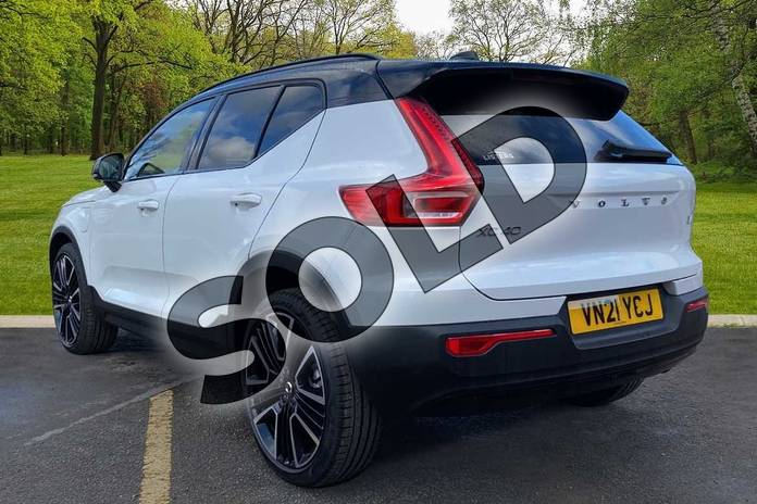 Image two of this 2021 Volvo XC40 Estate 1.5 T5 Recharge PHEV R DESIGN Pro 5dr Auto in Crystal White at Listers Volvo Worcester