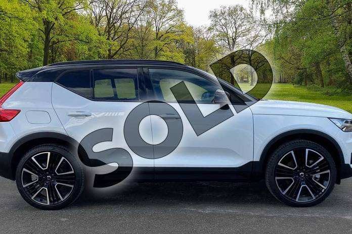 Image four of this 2021 Volvo XC40 Estate 1.5 T5 Recharge PHEV R DESIGN Pro 5dr Auto in Crystal White at Listers Volvo Worcester