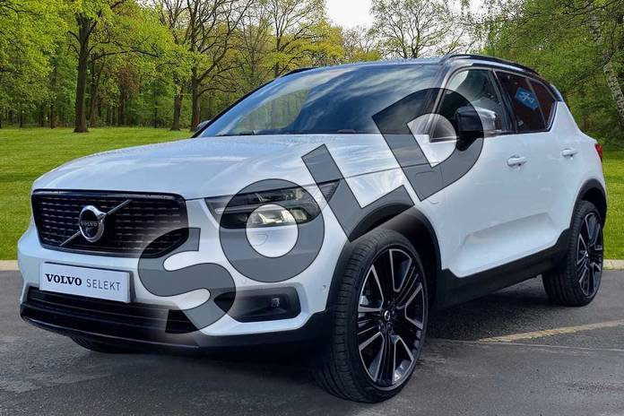 Image nine of this 2021 Volvo XC40 Estate 1.5 T5 Recharge PHEV R DESIGN Pro 5dr Auto in Crystal White at Listers Volvo Worcester