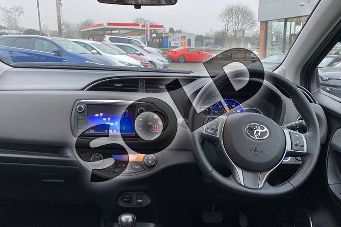 Image five of this 2015 Toyota Yaris Hatchback 1.5 Hybrid Icon 5dr CVT in Brown at Listers Toyota Coventry