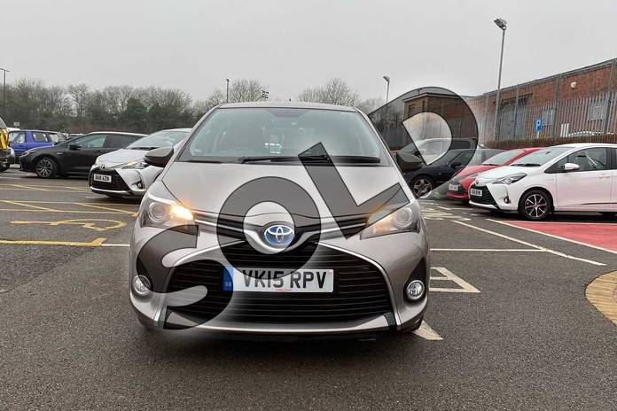 Image fifteen of this 2015 Toyota Yaris Hatchback 1.5 Hybrid Icon 5dr CVT in Brown at Listers Toyota Coventry