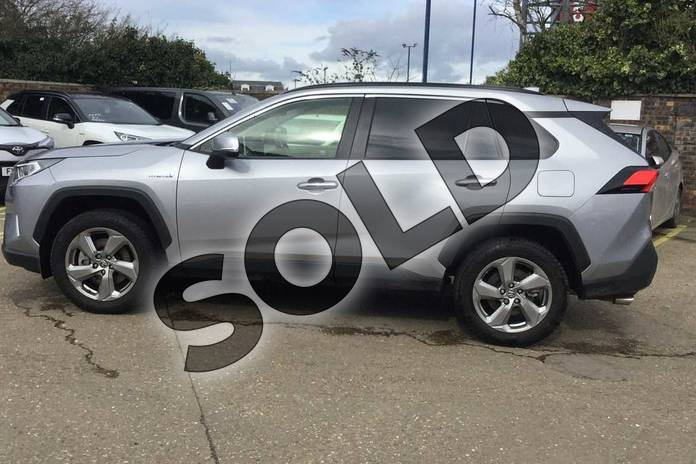 Image seventeen of this 2019 Toyota RAV4 Estate 2.5 VVT-i Hybrid Excel 5dr CVT 2WD in Silver Blade at Listers Toyota Boston