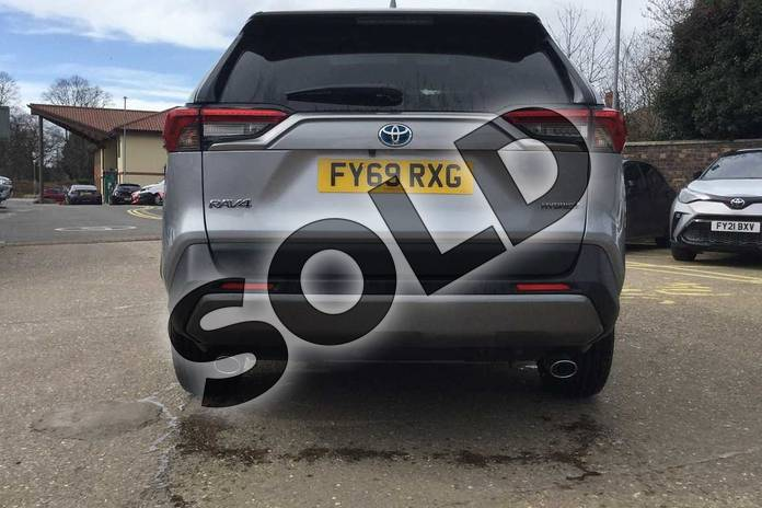 Image nineteen of this 2019 Toyota RAV4 Estate 2.5 VVT-i Hybrid Excel 5dr CVT 2WD in Silver Blade at Listers Toyota Boston