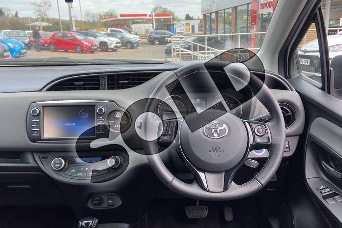 Image six of this 2019 Toyota Yaris Hatchback 1.5 Hybrid Icon Tech 5dr CVT in Pure white at Listers Toyota Coventry