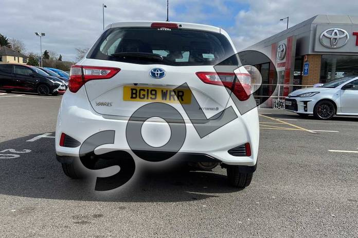 Image nineteen of this 2019 Toyota Yaris Hatchback 1.5 Hybrid Icon Tech 5dr CVT in Pure white at Listers Toyota Coventry