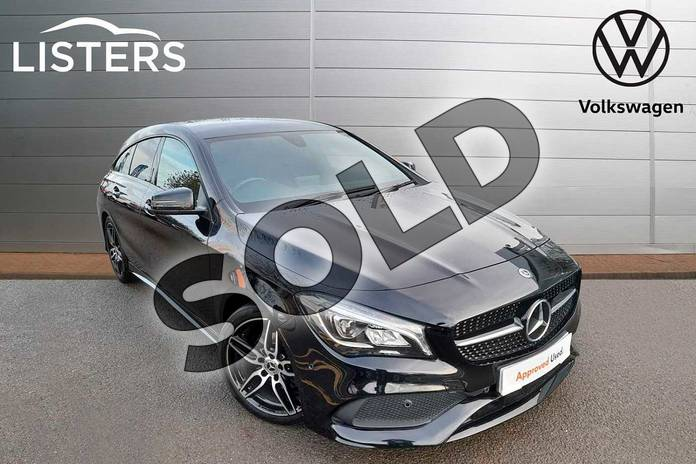 Picture of Mercedes-Benz CLA CLA 180 AMG Line 5dr Tip Auto in Cosmos Black