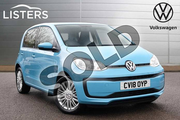 Picture of Volkswagen Up 1.0 Move Up 5dr in Teal Blue