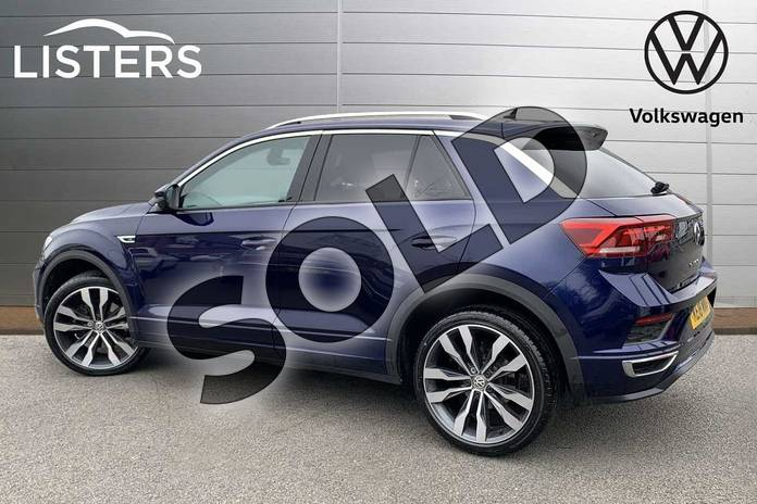 Image three of this 2018 Volkswagen T-Roc Hatchback 1.5 TSI EVO R-Line 5dr in Atlantic Blue at Listers Volkswagen Stratford-upon-Avon