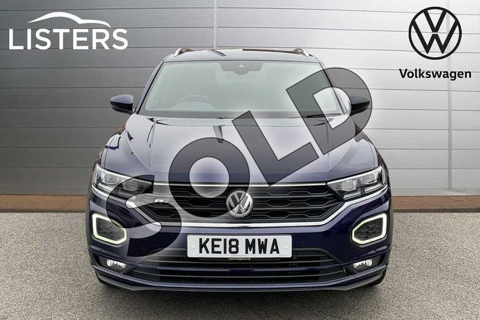 Image seven of this 2018 Volkswagen T-Roc Hatchback 1.5 TSI EVO R-Line 5dr in Atlantic Blue at Listers Volkswagen Stratford-upon-Avon