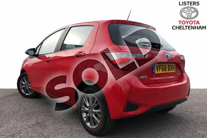 Image four of this 2019 Toyota Yaris Hatchback 1.5 VVT-i Icon 5dr CVT in Red at Listers Toyota Cheltenham