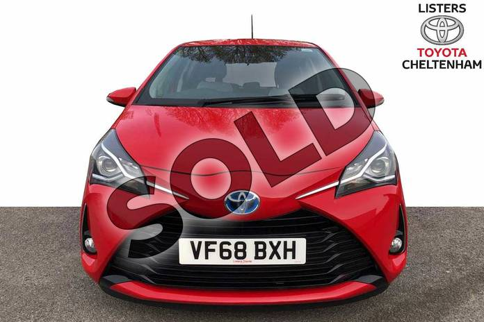 Image fifteen of this 2019 Toyota Yaris Hatchback 1.5 VVT-i Icon 5dr CVT in Red at Listers Toyota Cheltenham