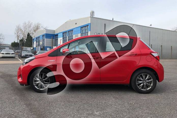 Image seventeen of this 2019 Toyota Yaris Hatchback 1.5 VVT-i Icon 5dr CVT in Red at Listers Toyota Cheltenham