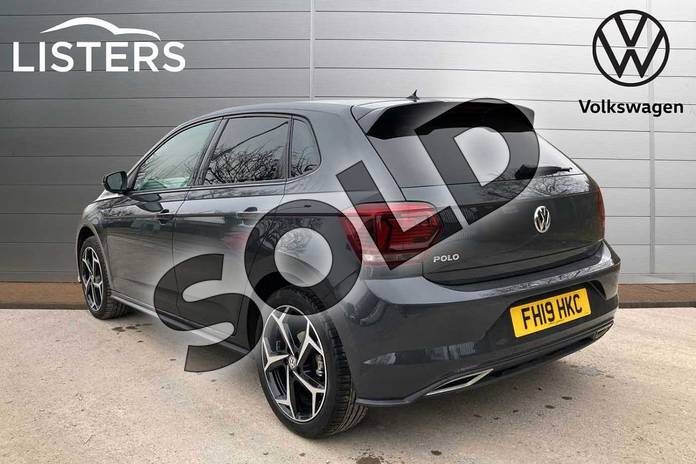 Image three of this 2019 Volkswagen Polo Hatchback 1.0 TSI 115 R-Line 5dr in Urano Grey at Listers Volkswagen Loughborough
