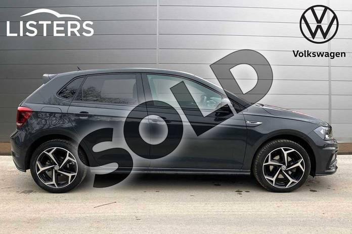 Image four of this 2019 Volkswagen Polo Hatchback 1.0 TSI 115 R-Line 5dr in Urano Grey at Listers Volkswagen Loughborough