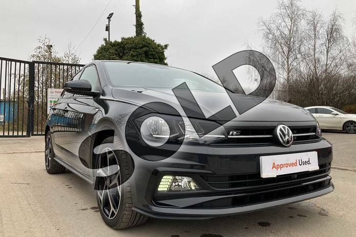 Image sixteen of this 2019 Volkswagen Polo Hatchback 1.0 TSI 115 R-Line 5dr in Urano Grey at Listers Volkswagen Loughborough
