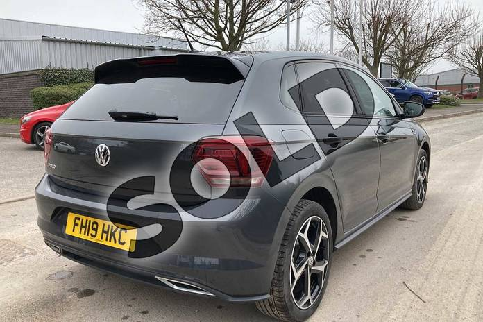 Image nineteen of this 2019 Volkswagen Polo Hatchback 1.0 TSI 115 R-Line 5dr in Urano Grey at Listers Volkswagen Loughborough