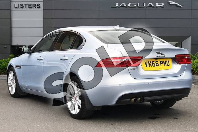 Image two of this 2016 Jaguar XE 2.0 i4 Diesel (180PS) Prestige in Osmium at Listers Jaguar Droitwich