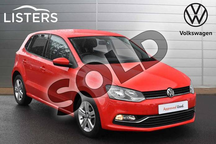 Picture of Volkswagen Polo 1.2 TSI Match 5dr in Flash Red