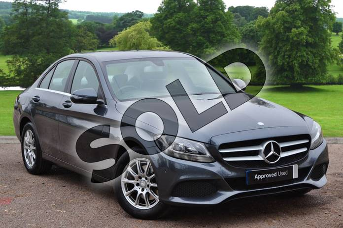 Picture of Mercedes-Benz C Class C220d SE Executive 4dr Auto in Tenorite Grey Metallic