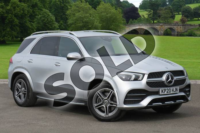Picture of Mercedes-Benz GLE GLE 300d 4Matic AMG Line 5dr 9G-Tronic (7 Seat) in Iridium Silver Metallic