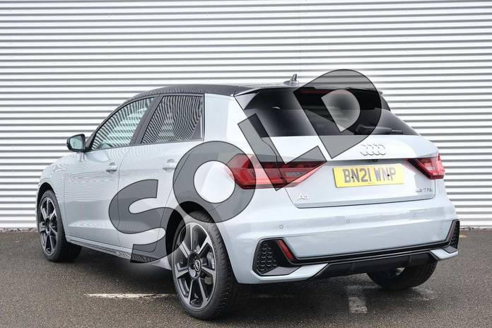 Image three of this 2021 Audi A1 Sportback 35 TFSI Black Edition 5dr S Tronic in Arrow Grey Pearlescent at Coventry Audi