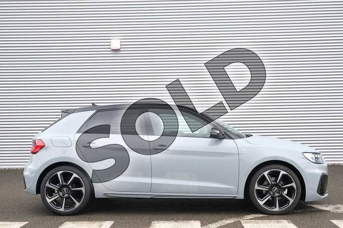 Image four of this 2021 Audi A1 Sportback 35 TFSI Black Edition 5dr S Tronic in Arrow Grey Pearlescent at Coventry Audi