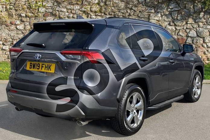 Image two of this 2019 Toyota RAV4 Estate 2.5 VVT-i Hybrid Excel 5dr CVT 2WD in Grey at Listers Toyota Coventry