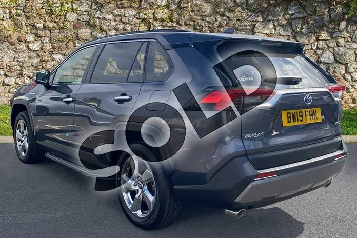 Image four of this 2019 Toyota RAV4 Estate 2.5 VVT-i Hybrid Excel 5dr CVT 2WD in Grey at Listers Toyota Coventry