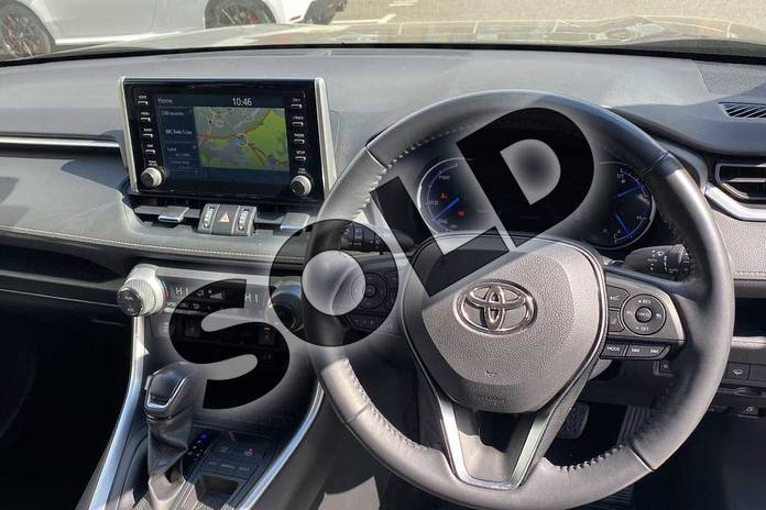 Image five of this 2019 Toyota RAV4 Estate 2.5 VVT-i Hybrid Excel 5dr CVT 2WD in Grey at Listers Toyota Coventry