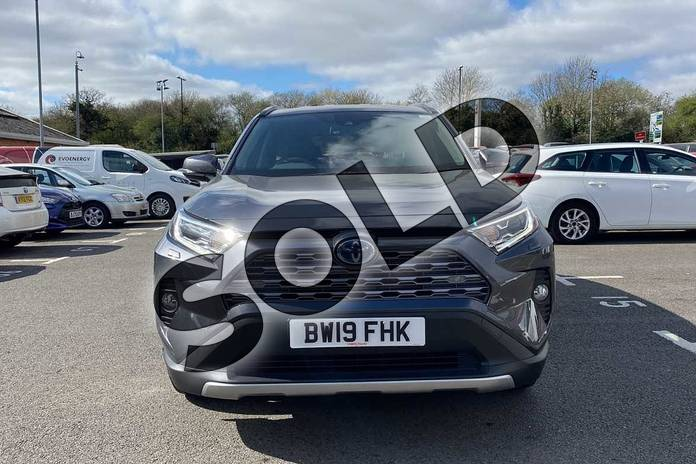 Image fifteen of this 2019 Toyota RAV4 Estate 2.5 VVT-i Hybrid Excel 5dr CVT 2WD in Grey at Listers Toyota Coventry
