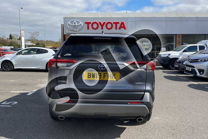 Image nineteen of this 2019 Toyota RAV4 Estate 2.5 VVT-i Hybrid Excel 5dr CVT 2WD in Grey at Listers Toyota Coventry