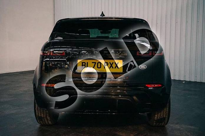 Image six of this 2020 Range Rover Evoque Hatchback 2.0 P250 R-Dynamic SE 5dr Auto in Santorini Black at Listers Land Rover Solihull