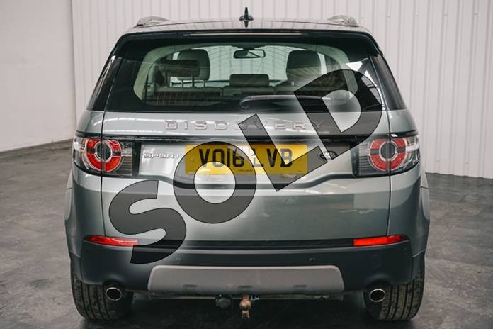 Image five of this 2016 Land Rover Discovery Sport Diesel SW 2.0 TD4 180 SE Tech 5dr Auto in Metallic - Corris grey at Listers Jaguar Solihull