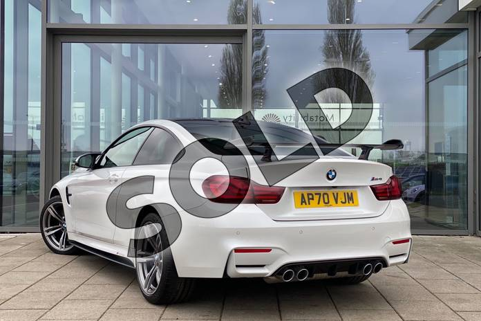 Image two of this 2021 BMW M4 Series M4 Coupe in Mineral White at Listers King's Lynn (BMW)