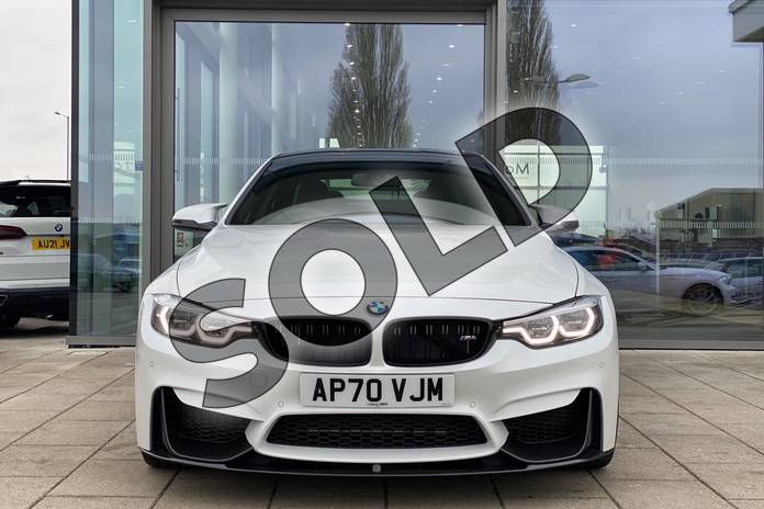 Image four of this 2021 BMW M4 Series M4 Coupe in Mineral White at Listers King's Lynn (BMW)