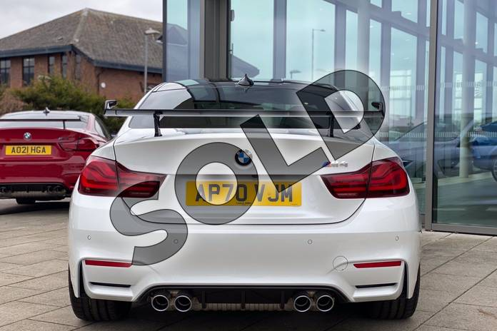 Image five of this 2021 BMW M4 Series M4 Coupe in Mineral White at Listers King's Lynn (BMW)