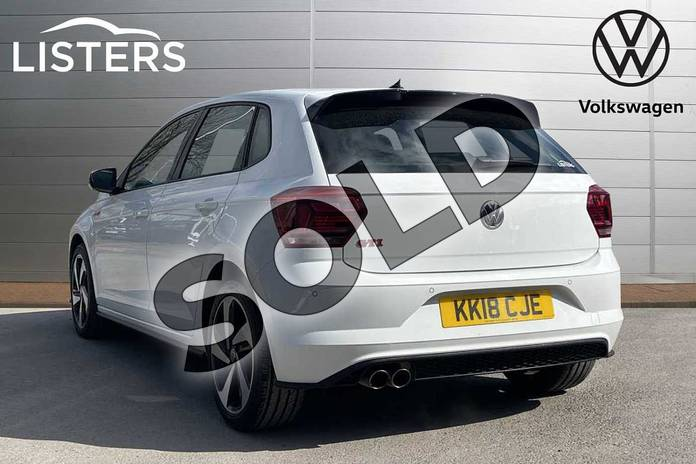 Image three of this 2018 Volkswagen Polo Hatchback 2.0 TSI GTI 5dr DSG in Pure white at Listers Volkswagen Loughborough
