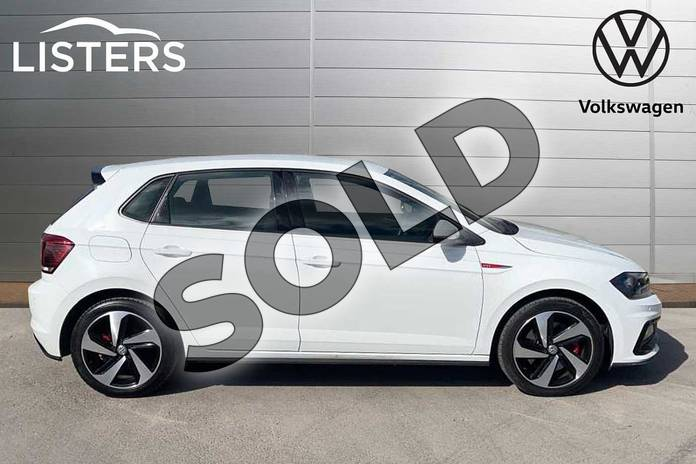 Image four of this 2018 Volkswagen Polo Hatchback 2.0 TSI GTI 5dr DSG in Pure white at Listers Volkswagen Loughborough